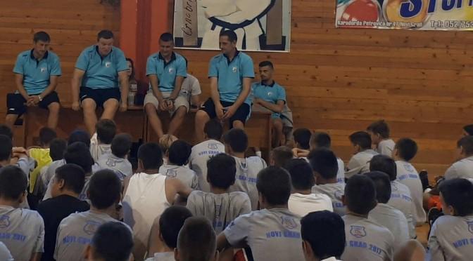 Poceo sa radom Basketball camp Novi Grad 2017, gost BiH reprezentativac Sasa Vasiljevic